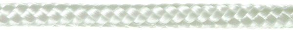 200-0600-0100-00 6mm (24H) 16 Plait Nylon Cord White