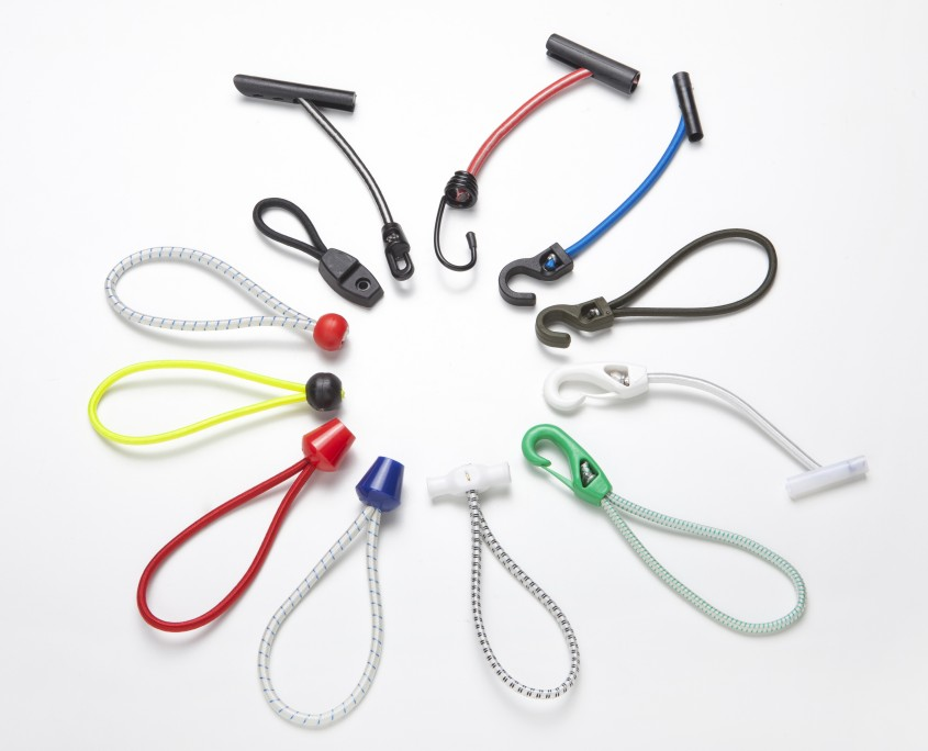 Details about  /2 Pieces Plastic Coated Steel Wire Hooks For Shock Cord Bungee Rope End